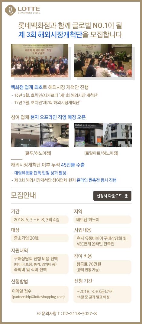 제3회 해외시장개척단